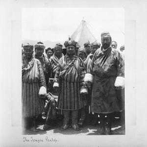 The Tsongsa Penlop, Bhutan, 1903-04 by John Claude White