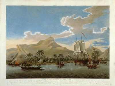 Vue De L'Ile Huaheim, Mer Du Sud