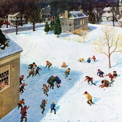 """Snowball Recess"", February 4, 1956"