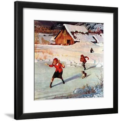 """Winter on the Farm"", December 30, 1950"