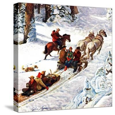"""Winter Sleigh Ride,"" December 17, 1949"
