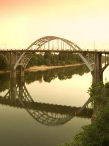 Alabama, Selma, Edmund Pettus Bridge, American Civil Rights Movement Landmark, Alabama River, USA by John Coletti