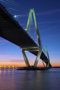 Charleston, South Carolina, Arthur Ravenel Junior Bridge, Cable-Stayed Bridge, Cooper River by John Coletti