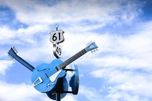 Clarksdale, Mississippi, Famous Blues Crossroads, Highways 61 And 49 by John Coletti