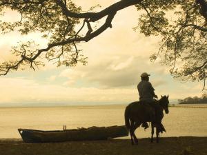 Isla De Ometepe, Lake Nicaragua, Sunset, Nicaragua by John Coletti