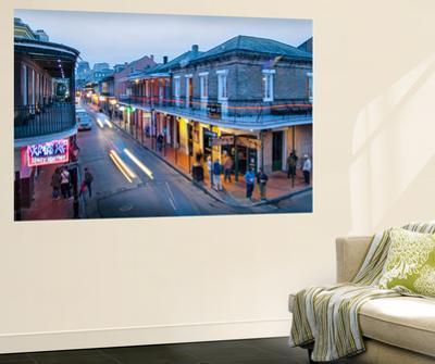 Louisiana, New Orleans, French Quarter, Bourbon Street