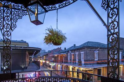 Louisiana, New Orleans, French Quarter, Bourbon Street by John Coletti