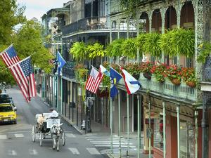 Louisiana, New Orleans, French Quarter, Royal Street by John Coletti