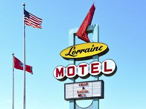 Memphis, Tennessee, Marque Of The Lorraine Motel, National Civil Rights Museum, Where Martin Luther by John Coletti