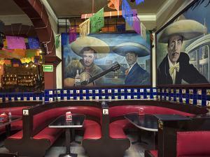 Mexico, Mexico City, Salon Tenampa, Cantina, Wall Murals, Birthplace of Mariachi, Plaza Garibaldi by John Coletti