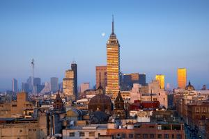 Mexico, Mexico City, Torre Latinoamericana, LatinAmerican Tower, Landmark, Skyline by John Coletti