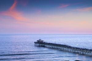 North Myrtle Beach, Cherry Grove Fishing Pier, South Carolina by John Coletti