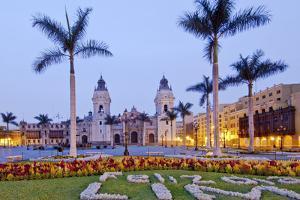 Peru, Lima, Cathedral by John Coletti
