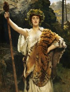 A Priestess of Bacchus by John Collier