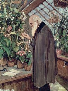 Charles Robert Darwin by John Collier