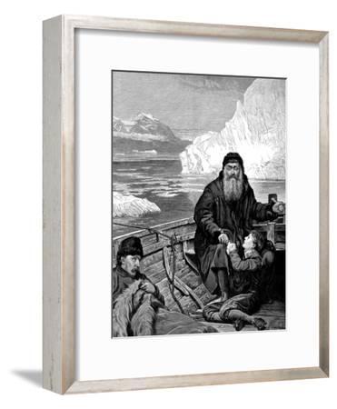 English Navigator Henry Hudson on His Last Voyage