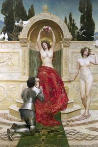 In the Venusburg (Tannhauser), 1901 by John Collier