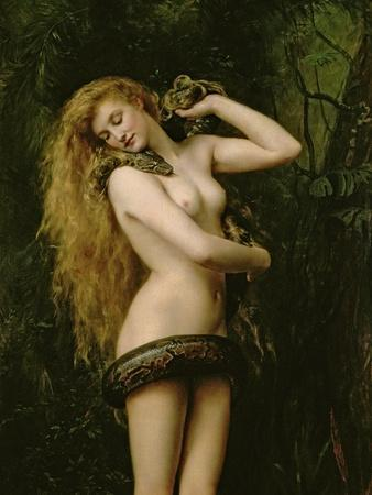 Lilith, 1887 (Detail)