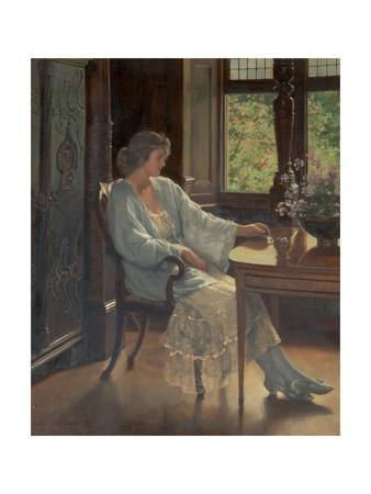 Meditation, 1921