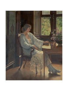 Meditation, 1921 by John Collier