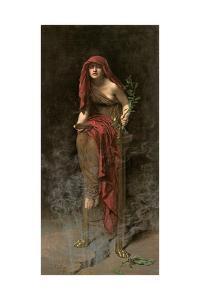Priestess of Delphi, 1891 by John Collier