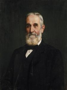 Sir John Evans, 1905 by John Collier