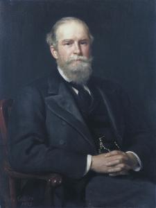 Sir John Lubbock, C1875-1913 by John Collier