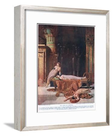The Death of Cleopatra, C.1920