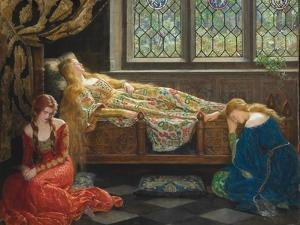 The Sleeping Beauty, 1921 by John Collier
