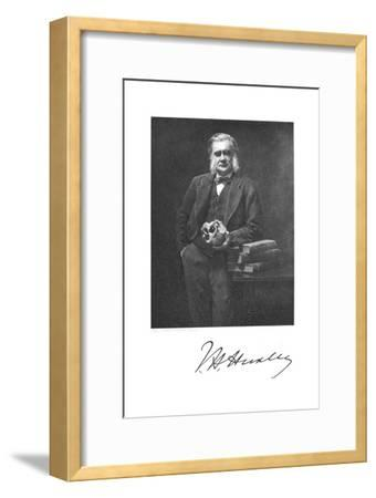 Thomas Henry Huxley, English Biologist, 1883