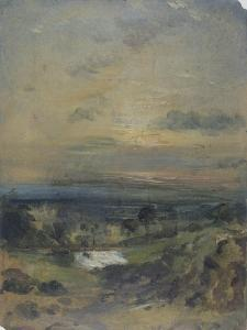 Branch Hill Pond by John Constable