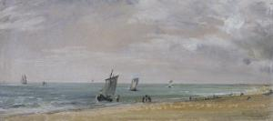 Brighton Beach, East Sussex by John Constable