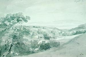 Chatsworth Park 99 by John Constable