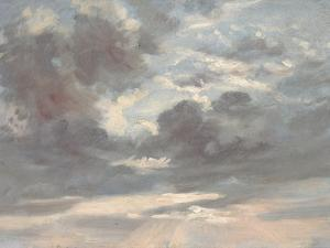 Cloud Study: Stormy Sunset, 1821-2 by John Constable