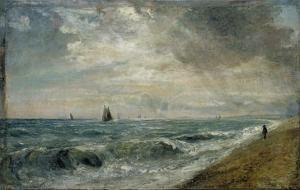 Hove Beach, East Sussex by John Constable