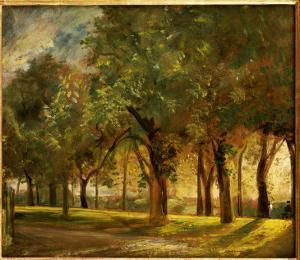 Judge's Walk, Hampstead, C.1820 by John Constable