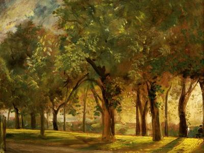Judge's Walk, Hampstead, circa 1820 by John Constable