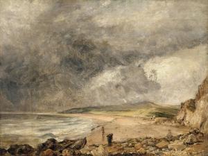 La Baie de Weymouth à l'approche de l'orage by John Constable