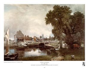 Mill at Dedham by John Constable