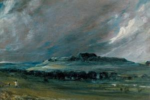 Old Sarum, Salisbury, Wiltshire by John Constable