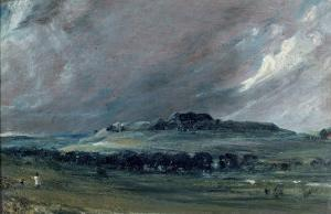 Old Sarum, Wiltshire by John Constable