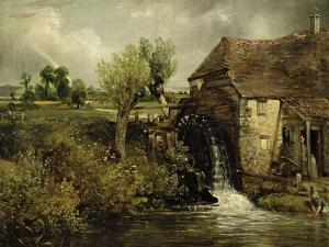 Parham's Mill, Gillingham, Dorset, 1824 by John Constable
