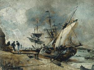 Shipping in the Orwell, Near Ipswich by John Constable