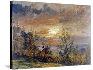 Sketch at Hampstead Heath by John Constable