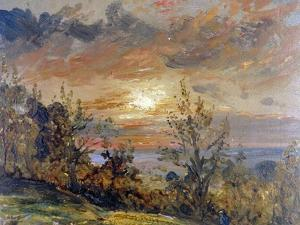 Sketch at Hampstead Heath by John Constable