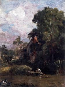Sketch For the Valley Farm by John Constable