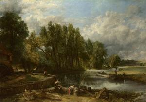 Stratford Mill, 1820 by John Constable