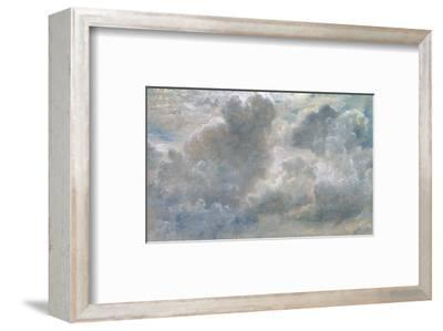 Study of Cumulus Clouds, 1822 (Oil on Paper Laid on Canvas)