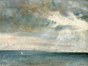 Study of Sea and Sky (A Storm Off the South Coast) by John Constable