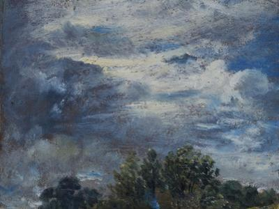Study of Sky and Trees by John Constable